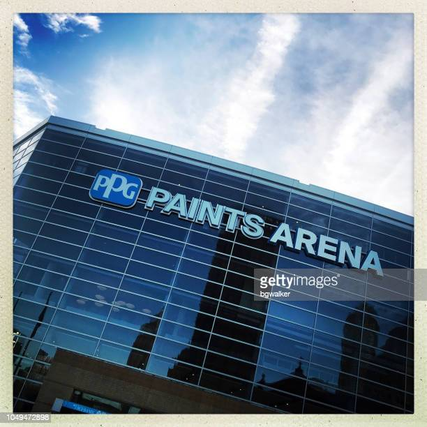 ppg paints arena - pittsburgh stock pictures, royalty-free photos & images