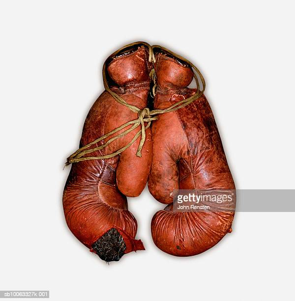 Pair of boxing gloves, close-up