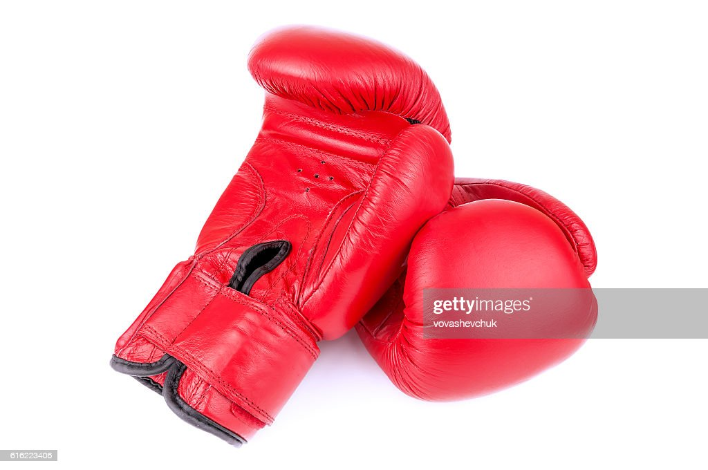pair of boxing gloves : Bildbanksbilder