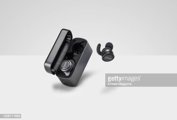 A pair of Cleer Ally wireless headphones taken on August 21 2019