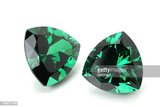pair of emerald - emerald gemstone stock pictures, royalty-free photos & images