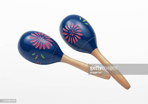 pair of maracas - maraca stock photos and pictures