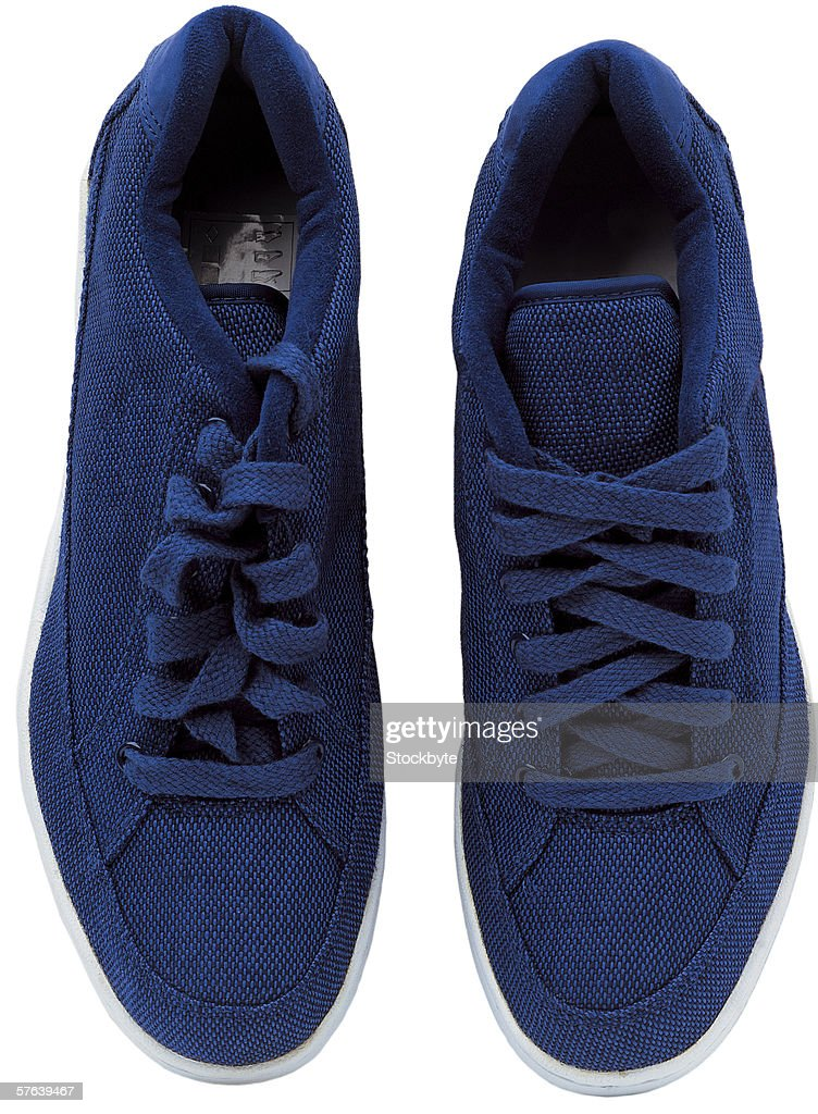 pair of tennis shoes : Stock Photo