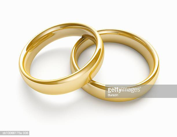 pair of wedding bands - wedding ring stock pictures, royalty-free photos & images