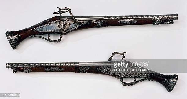 Pair of wheellock pistols made for Louis XIII of France Stoccolma Livrustkammaren