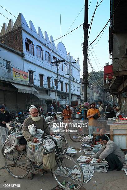 CONTENT] Paisa Akhbar Lahore is the main market or point from where at early morning all kind of newspapers are handed over to the sales menThen...