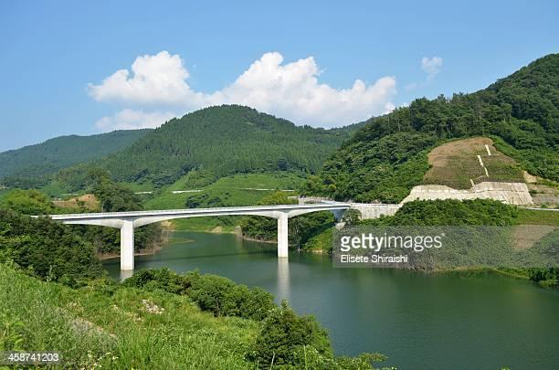 paisagem em tottori. - tottori prefecture stock photos and pictures