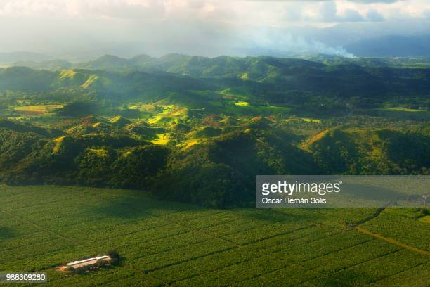 paisaje verde - honduras stock pictures, royalty-free photos & images