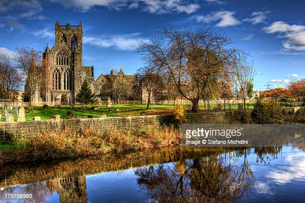 Paisley Abbey and White Cart Water