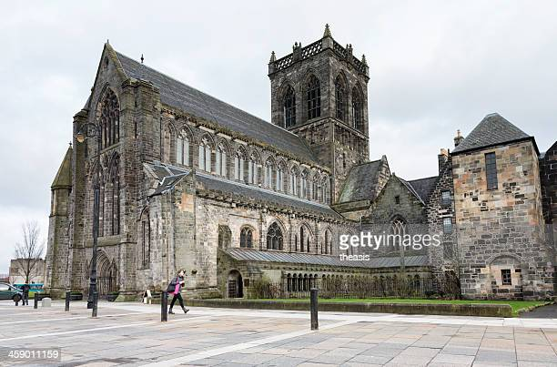 paisley abbey - abby road stock photos and pictures