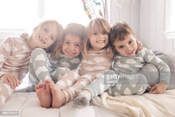 pajama party - political party stock pictures, royalty-free photos & images