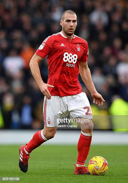 Pajtim Kasami of Nottingham Forest during the Sky Bet Championship match between Derby County and Nottingham Forest at iPro Stadium on December 11...