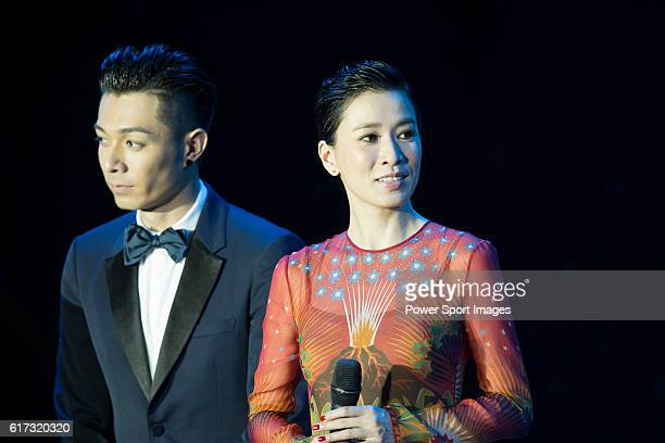 Pakho Chau Charmaine Sheh during the Opening Ceremony of the the World Celebrity ProAm 2016 Mission Hills China Golf Tournament on 20 October 2016 in...