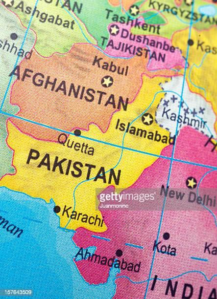 Pakistan and neighbor countries