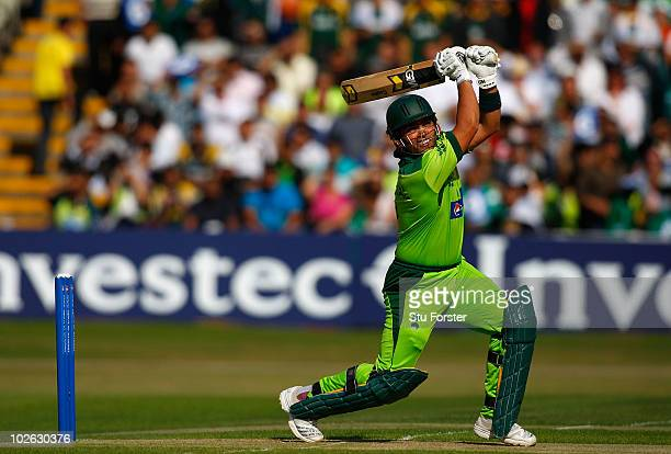 Pakistan batsman Kamran Akmal in action during the 1st Twenty20 International between Pakistan and Australia at Edgbaston on July 5 2010 in...