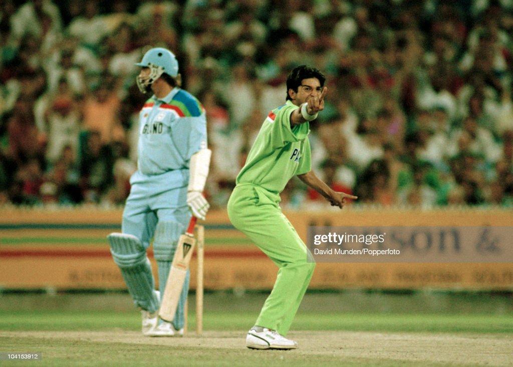 World Cup Final   Pakistan v England : News Photo