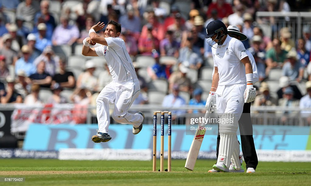 England v Pakistan: 2nd Investec Test - Day One : News Photo