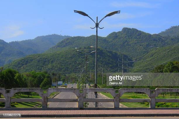 pakistan capital city islamabad lockdown - islamabad stock pictures, royalty-free photos & images
