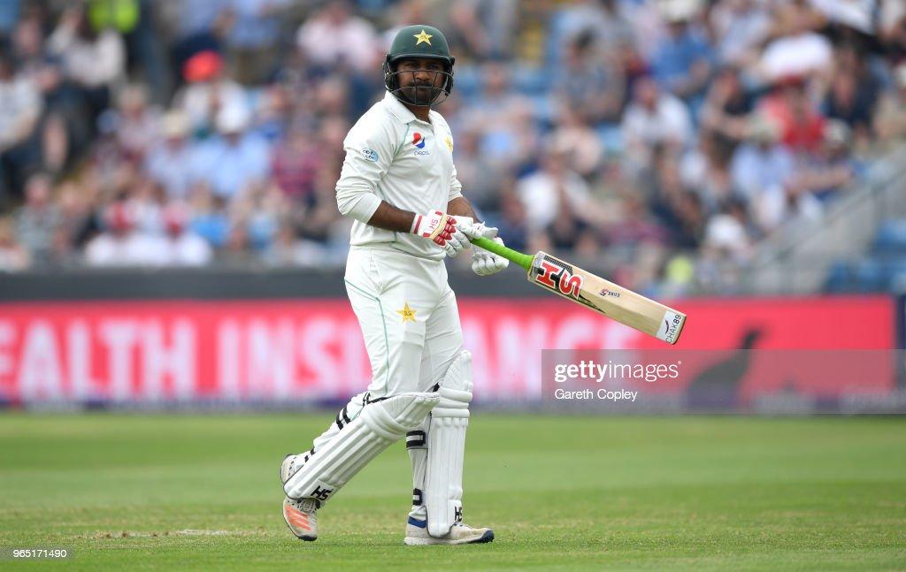 England v Pakistan: 2nd Test - Day One : News Photo