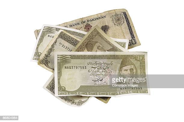 pakistan currency - pakistan currency stock photos and pictures