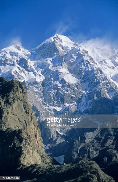 pakistan, hunza valley, ultar peak - hunza valley stock pictures, royalty-free photos & images