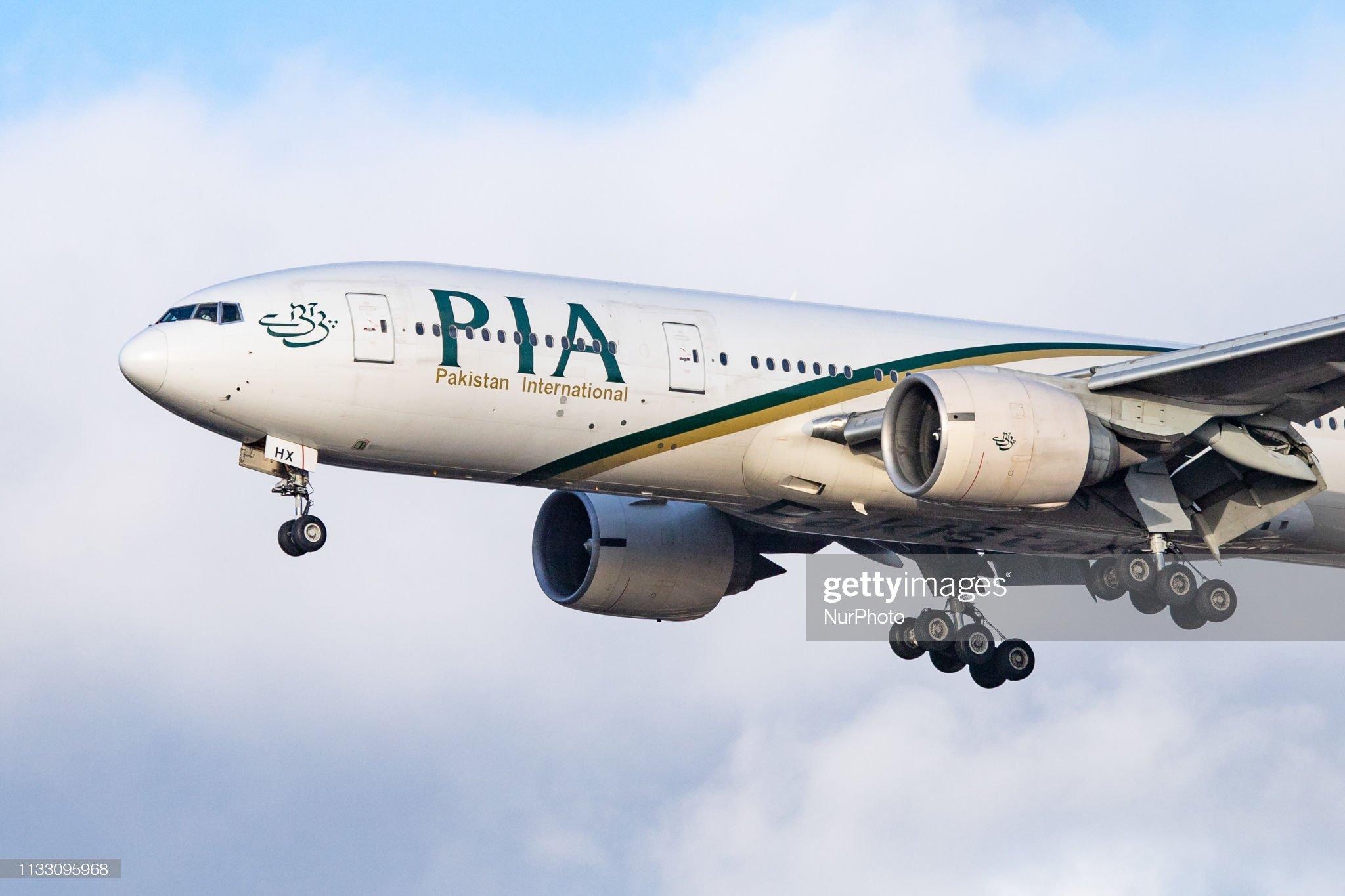 Pakistan International Airlines Boeing 777 : News Photo