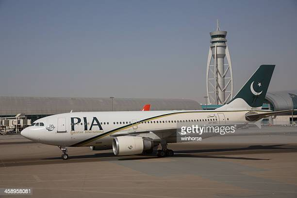 pakistan international airlines - pia stock pictures, royalty-free photos & images