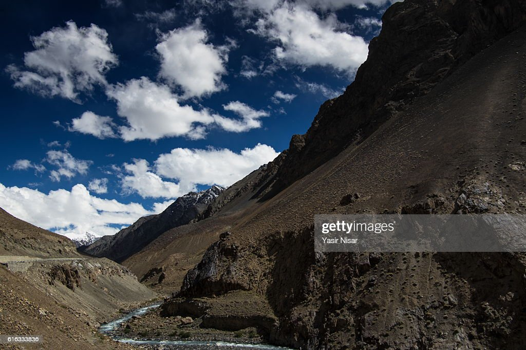 Pakistan - Karakoram Highway and Mountains : Stock Photo