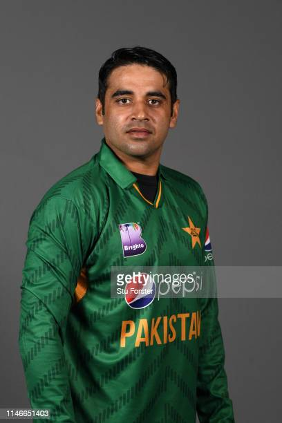 Pakistan player Abid Ali pictured during a Pakistan Cricket head shot session at Sophia Gardens on May 03 2019 in Cardiff Wales