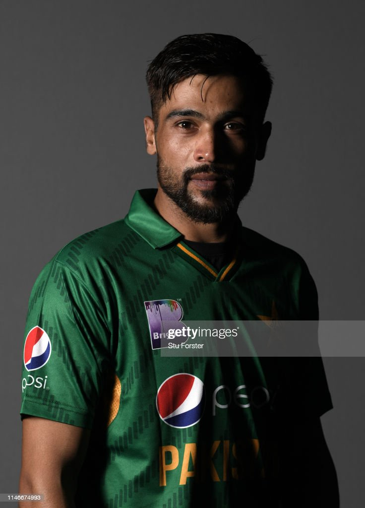 Pakistan player Mohammad Amir pictured during a Pakistan