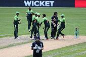 dunedin new zealand pakistan players celebrate