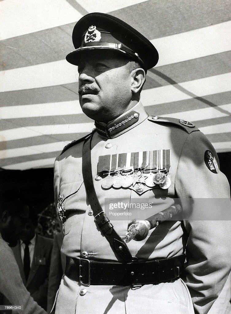1960, President Ayub Khan, President of Pakistan from 1958-1969