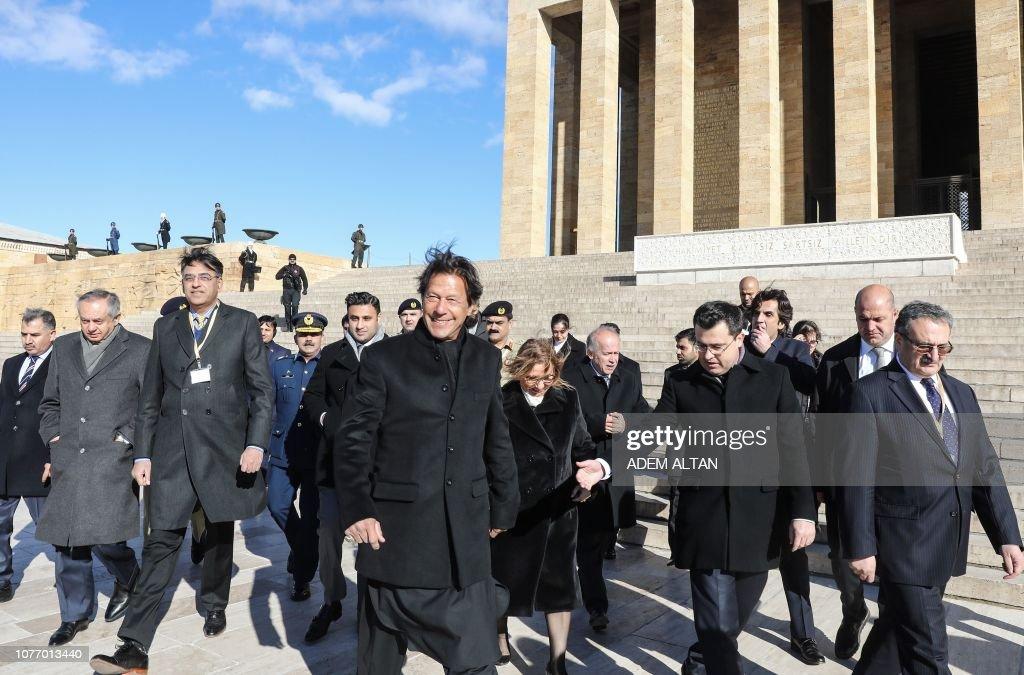 TURKEY-PAKISTAN-DIPLOMACY : News Photo