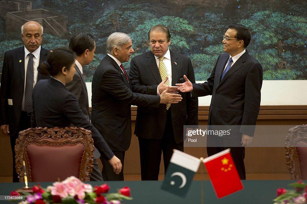 Pakistan Prime Minister Visits China : ニュース写真