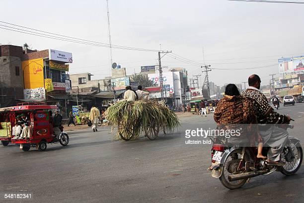 Pakistan Punjab Lahore - street scenery
