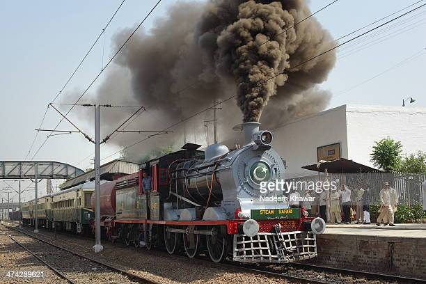 Pakistan Railway steam safari was the project for tourism by the Government and this was the first safari train steamed of from Lahore Railway...
