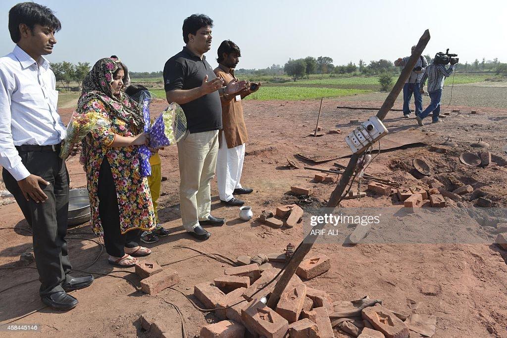 PAKISTAN-UNREST-BLASPHEMY-RELIGION-CHRISTIAN : News Photo