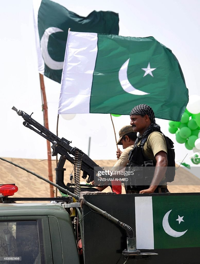 PAKISTAN-INDEPENDENCE DAY-CELEBRATION : News Photo