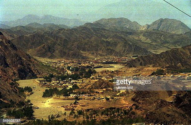 The Pakistani/Afghan border town Torkham at the Khyber pass The border is closed for refugee by the Pakistani government