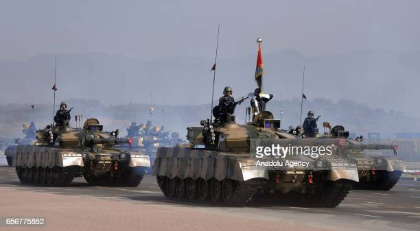 Pakistani armed forces attend a military parade to mark Pakistan's National Day in Islamabad Pakistan on March 23 2017