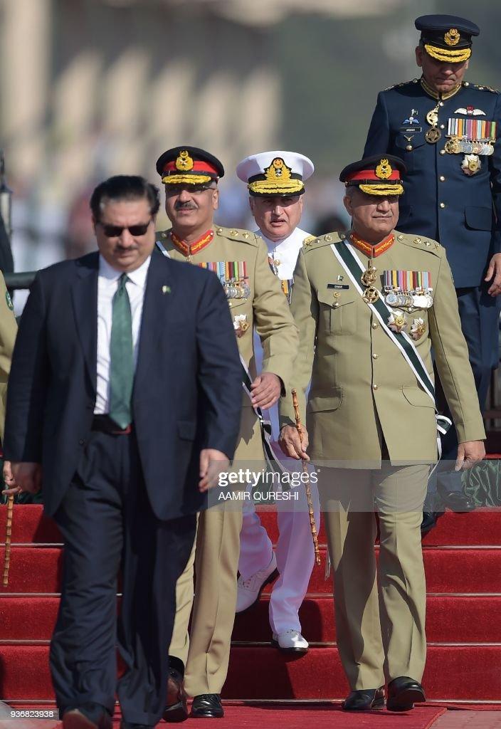 PAKISTAN-POLITICS-NATIONAL-DAY : News Photo