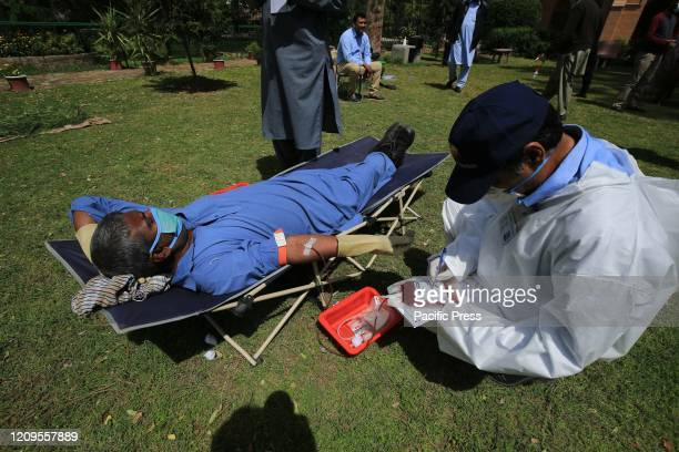 Pakistani Christians donate blood in Peshawar ST John's Cathedral Church of Pakistan A continuous lockdown due to the corona virus pandemic has...