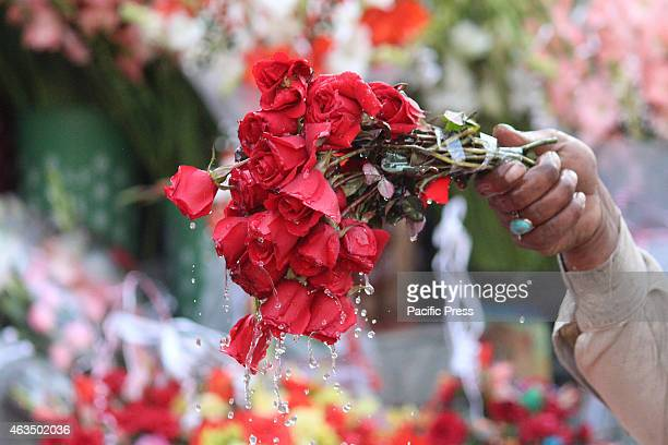 Pakistani citizens takes part on Valentine's Day celebration Valentine's Day is named for a Christian martyr way back 5th century but has origins in...