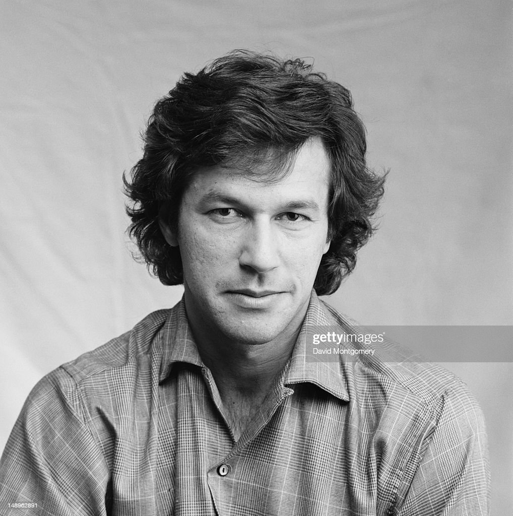Pakistani cricketer Imran Khan, circa 1990.