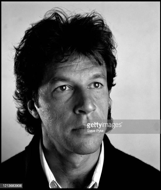 Pakistani cricketer Imran Khan London 1990