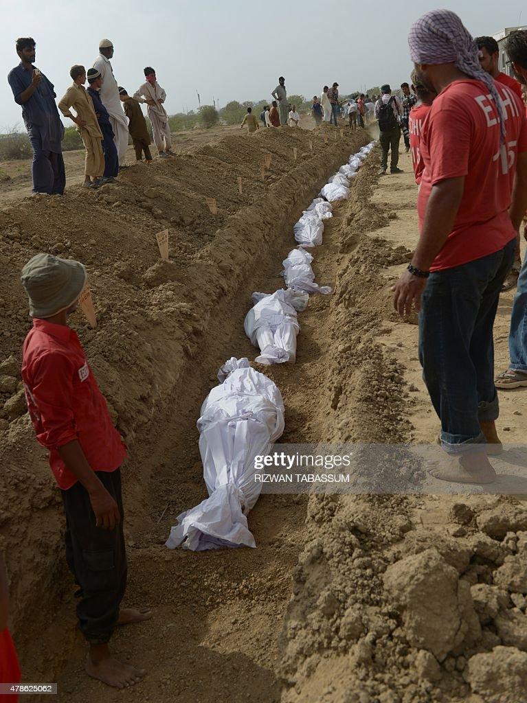 PAKISTAN-WEATHER-HEAT : News Photo
