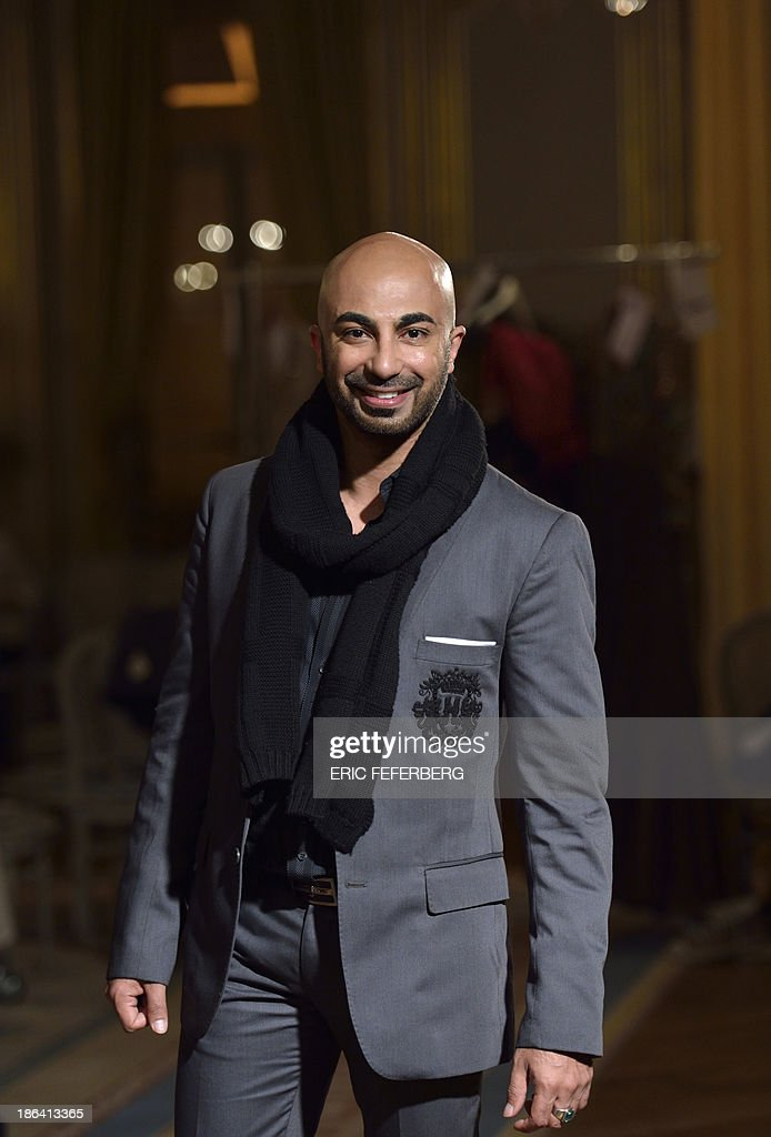 Pakistani Fashion Designer Hsy Poses Prior To The News Photo Getty Images