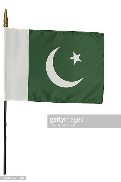 pakistani flag - pakistani flag stock photos and pictures