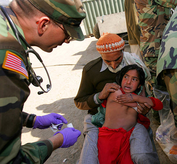 Story Of A Kashmiri S Girl By: U.S. Military Army Surgical Hospital Takes In Earthquake