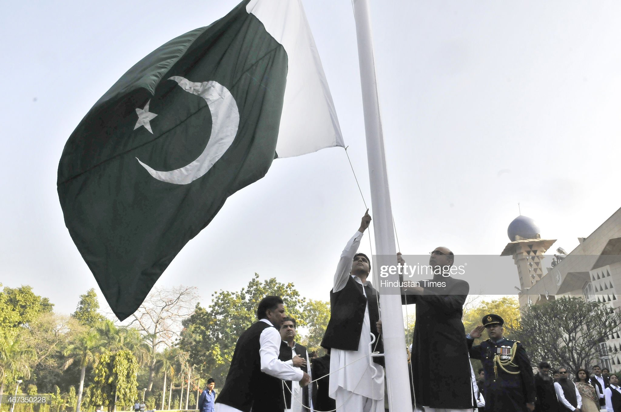 Pakistan National Day Reception At The Pakistani High Commission : News Photo